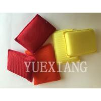 China Microfiber Cleaning cloth Cleaning Sponge mesh scrubber sponge wholesale