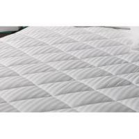 China Quilted mattress protector Luxury stripe quilting mattress protector wholesale