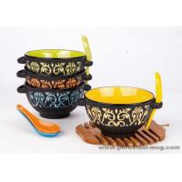 China Dinner set Soup bowl with spoon& handle wholesale