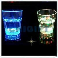 China Whisky Glass Factory LED Light Drinking Glass on sale