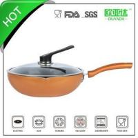 China aluminum ceramic wok wholesale