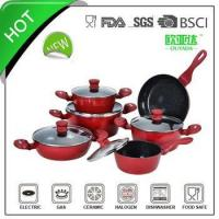 China 11pcs aluminum korean kitchenware sets wholesale
