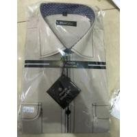 China New style fancy wide collar long sleeve causal men's shirt mens slim fit shirts wholesale