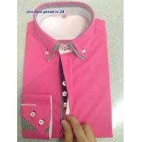China KM-527 New designer 2014 fit casual slim shirt Double high collar fashion dress shirts for man wholesale