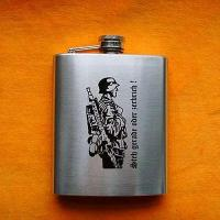 China Hip Flask hip flask gift set JHF-003 wholesale