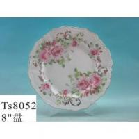 China Porcelain Dinner Plate 8 Inches Elegant New Bone Dinner Plate Serving Plate wholesale