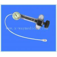 China 25ml 400PSI Blue medical balloon inflation device, indeflator, pressure pump inflator wholesale
