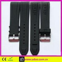 China Udoo-Silicone Watch Top quality rubber watch strap wholesale