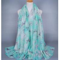 China Wholesale cotton scarf butterfly wholesale