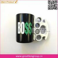 China Promotional Koozies Brass Knuckles Beer Stubby Holder wholesale