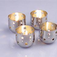 China Stainless Star Candlestick wholesale