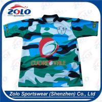 China Camouflage Rugby Jersey 008 wholesale