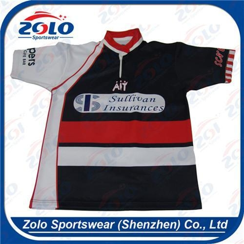 Quality Custom Made Rugby Team Jersey 006 for sale