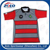 China Classical Stripe Rugby Jersey 007 wholesale