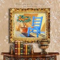 Buy cheap Oil painting YISENNI original canvas abstract painting still life oil painting from wholesalers