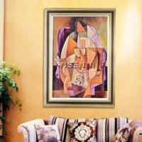 Buy cheap Oil painting YISENNI home decor handmade fashion colorful canvas oil painting from wholesalers