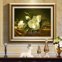 Buy cheap Flower oil painting YISENNI modern artworks bedroom decoration flowers oil painting from wholesalers