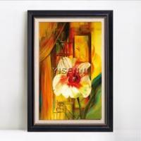 Buy cheap Flower oil painting YISENNI floral oil painting modern art decoration home decor from wholesalers
