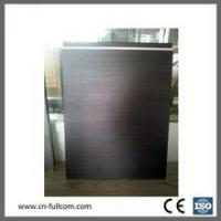 China Modern wood PVC membrane cabinet door wholesale