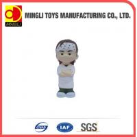 China PU Stress Toys Special cute Mini keychain Ninja Kids Action Figure for baby toy wholesale