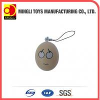 China PU Stress Toys Easter eggs shape keychain toy wholesale