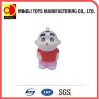 China PU Stress Toys Factory custom Mini keychain boy Cartoon action figures for baby toy wholesale