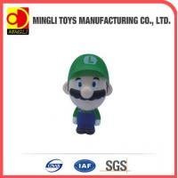 China PU Stress Toys 2015 new Mini keychain Super Mario Action Figure for baby toy wholesale