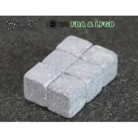 China Hot Sale Grey Soapstone Whiskey Stones wholesale