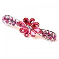 China Products Top-Quality Flower Shaped Spring Hair Barrette HJ54GD on sale
