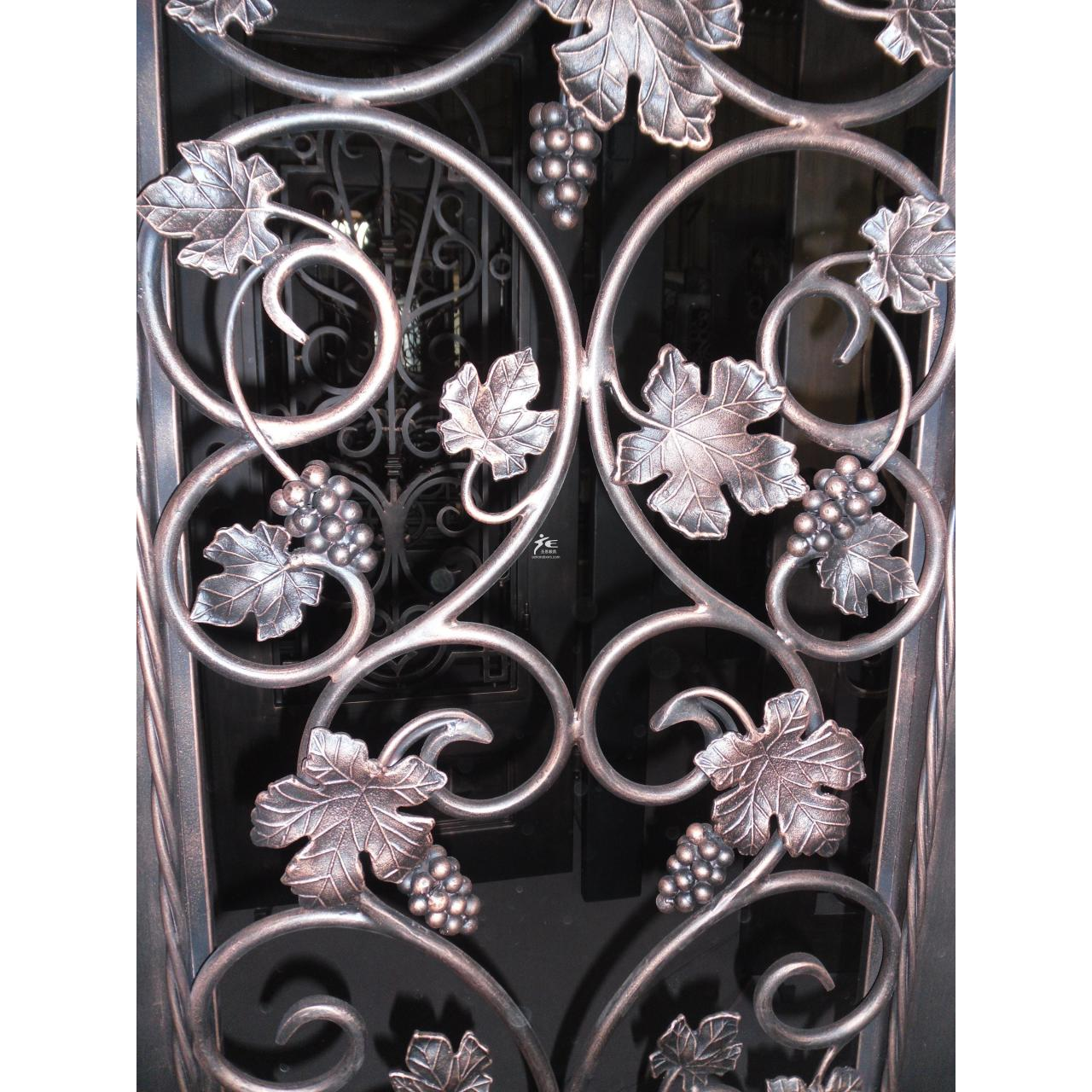 China Iron door-Grapes and wines on sale