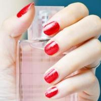 Buy cheap Wholesale Red Glitter Nail Polish Strips from wholesalers