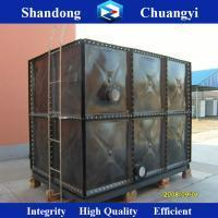 China Chuangyi Better Price Enamelled Cube water tank wholesale