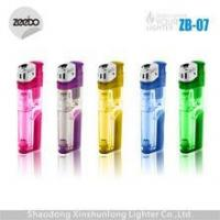 China torch lighter refillable gas lighter with LED lighter supplier China wholesale