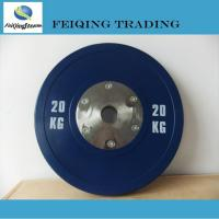 China 1. Weight plate& rack FQ1003 Olympic competition barbell plate Olympic competition barbell plate wholesale