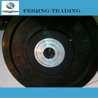 China 1. Weight plate& rack FQ1002 Black rubber bumper plate Black rubber bumper plate wholesale