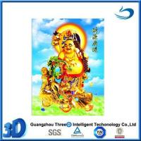 China Custom lenticular 3d picture of religion western god on sale