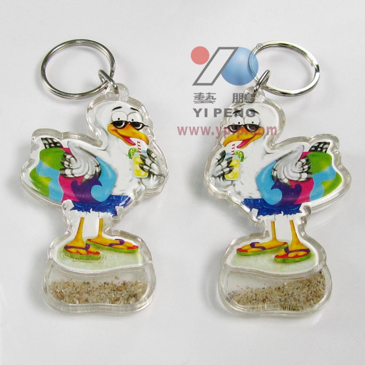 China Acrylic key chain Series Product ID: YP-BA021 on sale