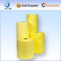 China SMS 100% PP Oil absorbent Roll for chemical and acid liquid wholesale