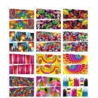 Buy cheap New nail art designs sticker SY series 12 in 1 nail sticker for nail art from wholesalers