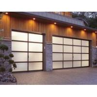 China Modern High Quality Electric Mirrored Glass Sectional Panel Garage Door wholesale