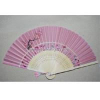 China Advertising fans Bamboo fan wholesale