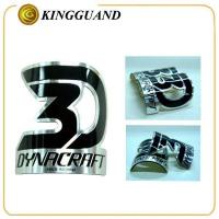 China Special design metal hollow for round tube dirt bike sticker wholesale