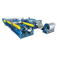 China Duct Manufacture Line 7 Square Duct Machines on sale