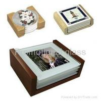 Thermal transfer glass dial、cup mat Tile, Glass coaster, ceramic coaster, tile