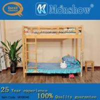 China Dormitory furniture Dormitory solid wood bunk bed wholesale