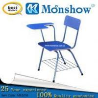 China Chairs Wood student chair with writing pad wholesale