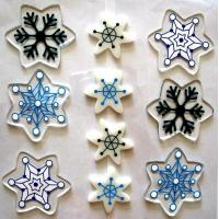 Buy cheap Crystal Sticker Snowflake Gel Sticker from wholesalers