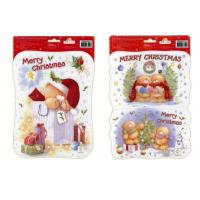 China Crystal Sticker Christmas Static Sticker wholesale
