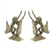 China Cast Iron Mermaid Bookends wholesale