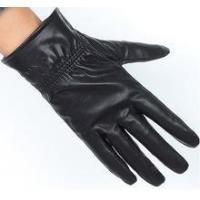 China High Quality Custom Leather Glove with Embossed Logo on sale
